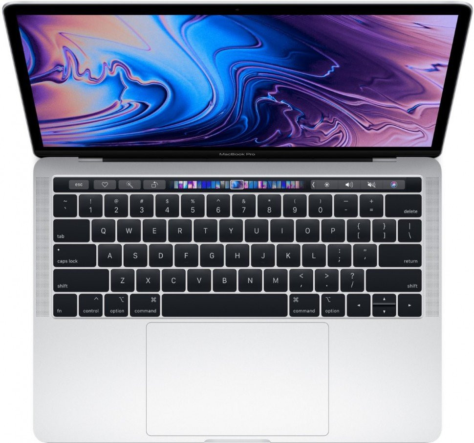 "Ноутбук Apple 13"" MacBook Pro with Touch Bar - Silver (Z0WS000YS)"
